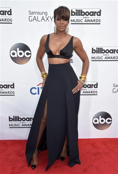 Kelly Rowland arrives at the Billboard Music Awards at the MGM Grand Garden Arena in Las Vegas on May 18, 2014.Like us on Facebook?