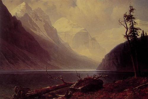 Lake Louise - Albert Bierstadt