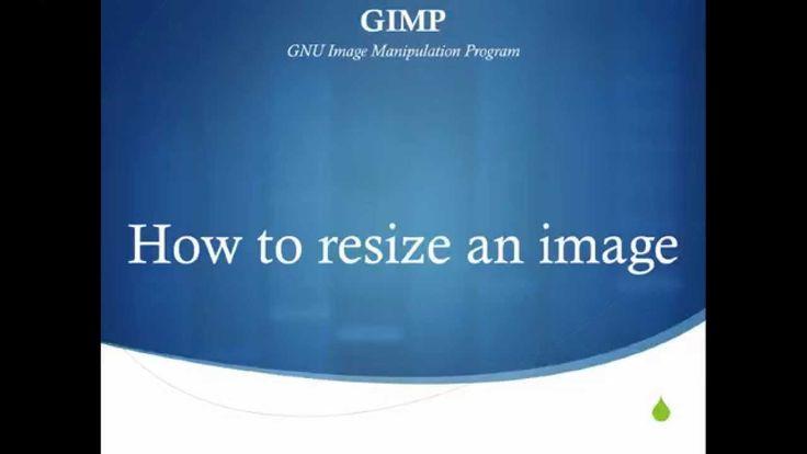 blog quicktip resize images using gimp