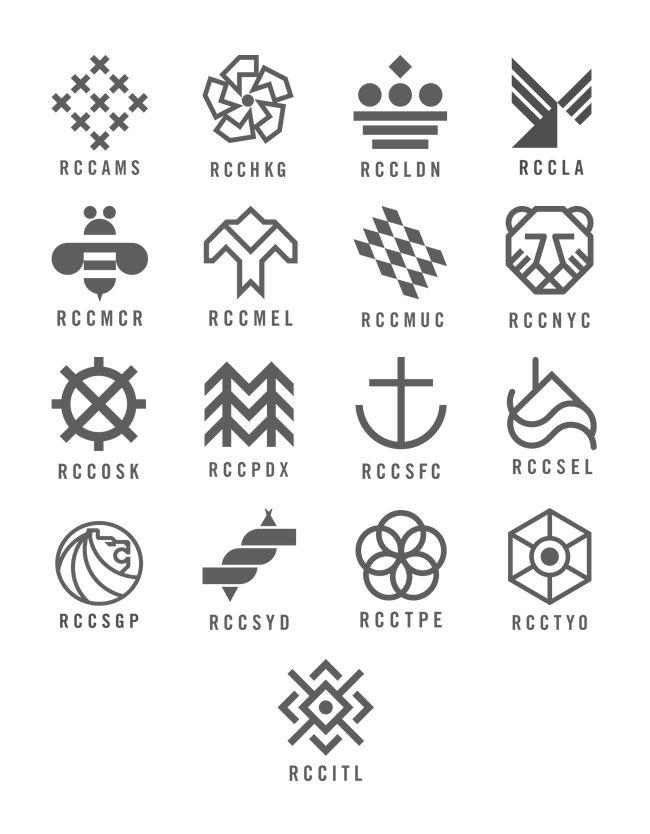 copyuntilyousteal:  Rapha RCC chapter logos
