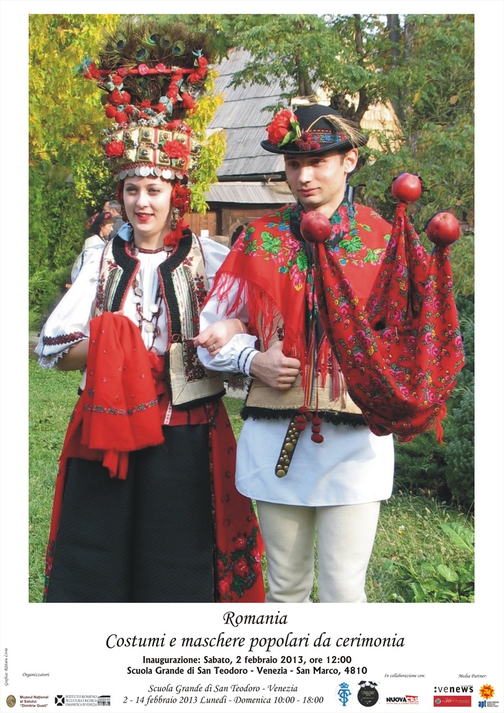 Ceremonial Romanian costumes