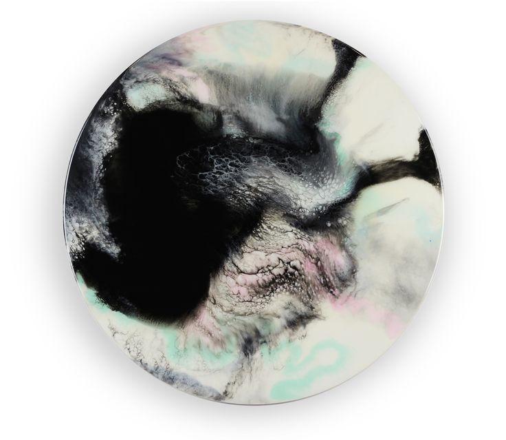 70cm circle resin artwork Abstract art Resin art