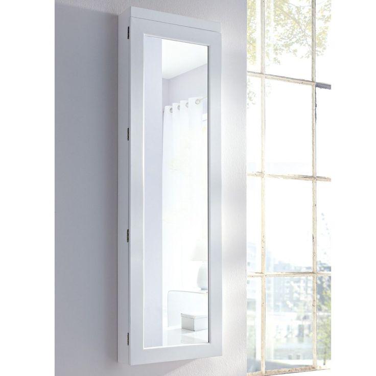 Beautiful Schmuckschrank Spiegel mit LED Beleuchtung wei Living Schmuckschrank Spiegel mit LED