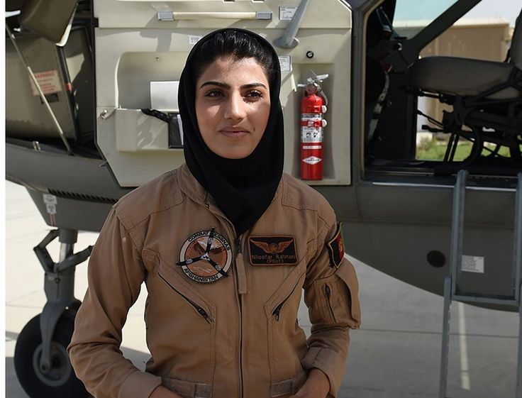 Afghan Air Force 2nd Lt. Niloofar Rhmani made history May 14, 2013 when she became the first female in over 30 years to successfully complete undergraduate pilot training and earn the status of pilot.