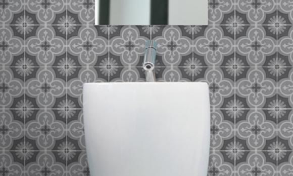 Marrakesh Bathroom Splashback Feature Tile