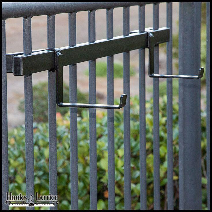 Rail Planter Box Bracket Standard Pair