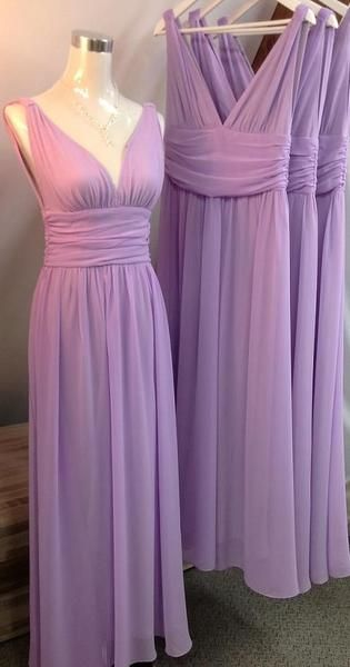 Lavender Bridesmaid Dresses,Bridesmaid Dresses Long,Ruched Bridesmaid Dresses,Robe De Demoiselle D'Honneur,Bridesmaid Dresses under 100,FS073