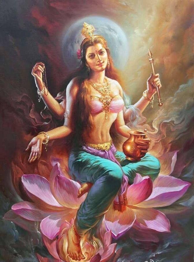Uṣṇīṣavijayatārā - Tārā the Victorious Uṣṇīṣa
