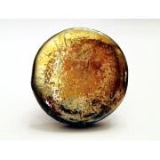 Anello Rabu flat color oro brunito