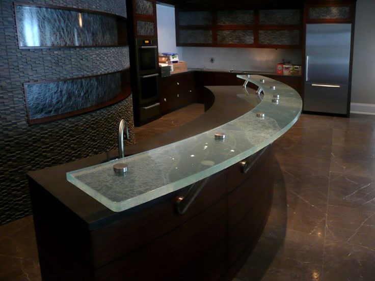 16 Best Images About Glass Countertops On Pinterest