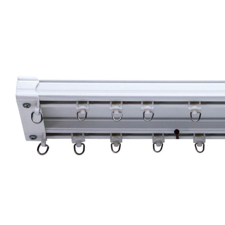 SDC01 Double curtain track - PVC track--szone curtain rods|curtain track|curtain finials