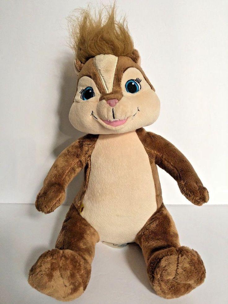 Build A Bear Workshop Chipmunk Movie Baby Bab Plush Stuffed Animal Chipettes   | eBay