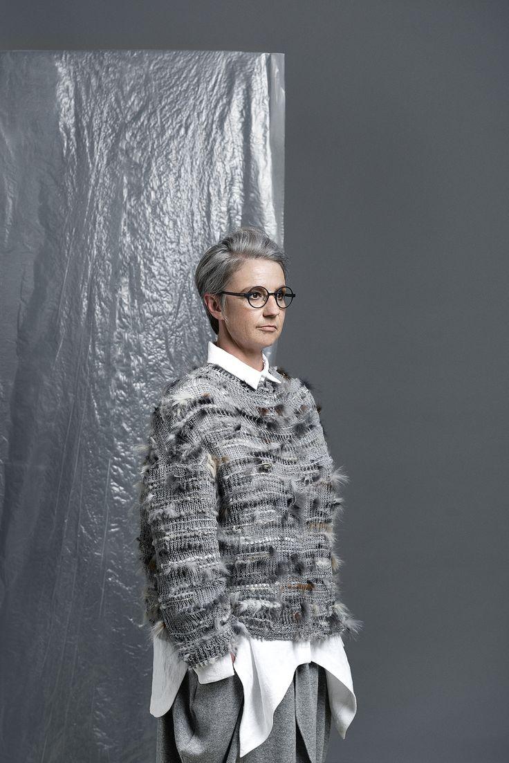// LISELOTTE HORNSTRUP // - Danish fashion brand - sustainable fashion - grey shades - visit my webside Photo: Josefine Amalie