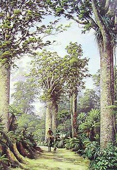 Check out Ancient Kauri by Jeanette Blackburn at New Zealand Fine Prints