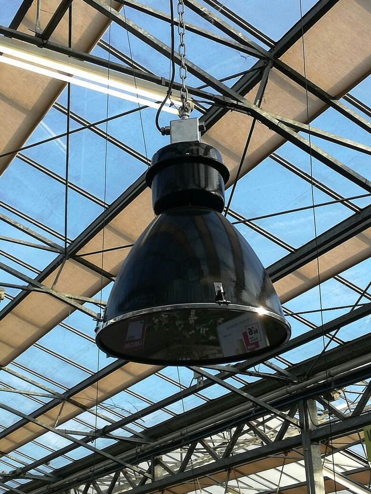 Industriële lamp.bij intratuin