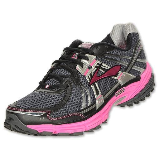 Brooks Adrenaline GTS 12 Women's Running ShoesBlack/Pink/Grey - So damn cute I can't stand it!