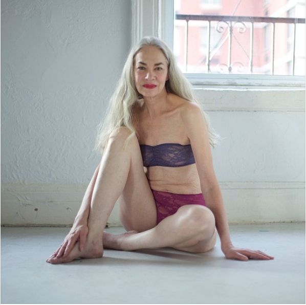 American Apparel's New Lingerie Model Is 62 Years Old