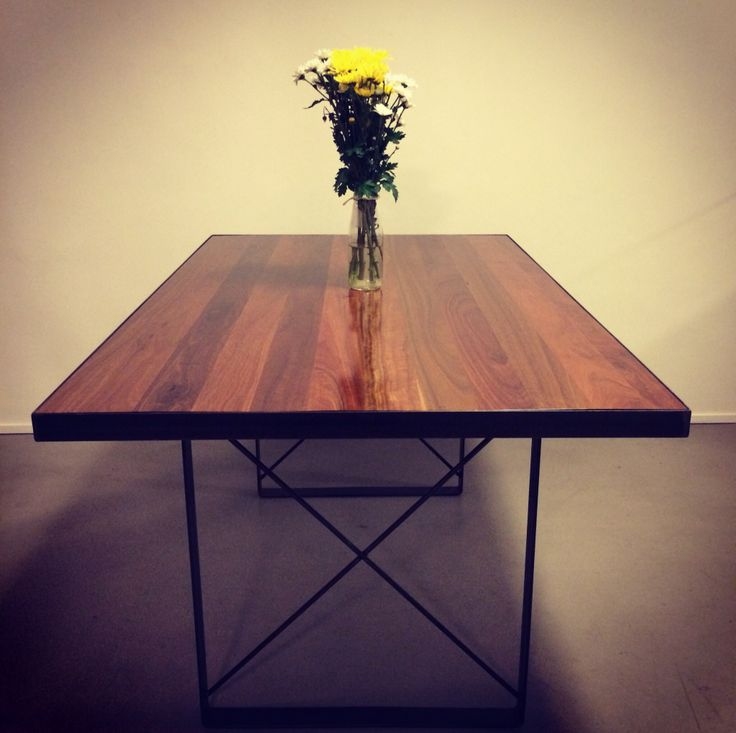 Dining room table spotted gum. $1700