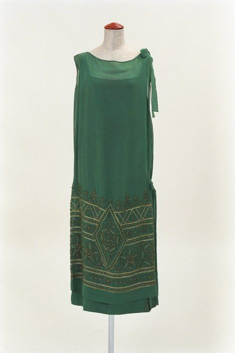 Dress 1920s Bunka Gakuen Museum