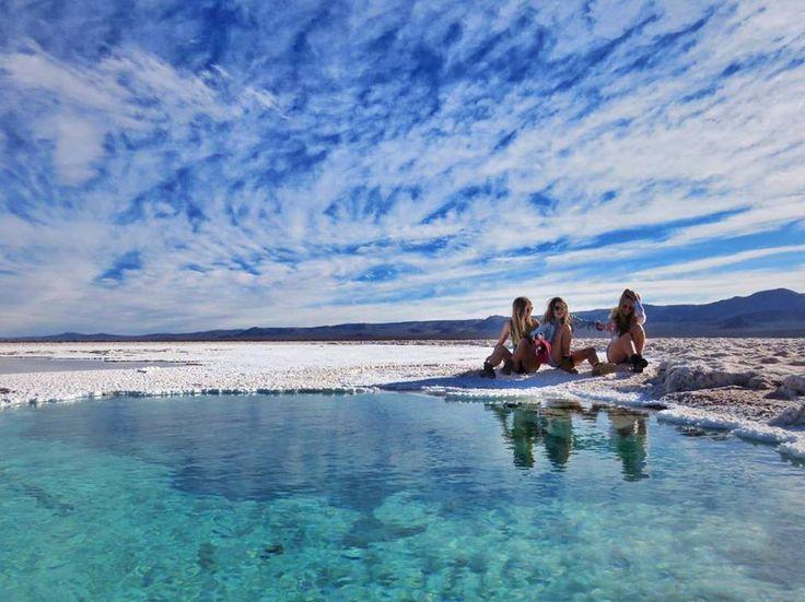 Lagunas Escondidas, San Pedro De Atacama, Chile