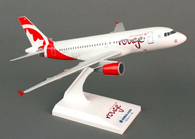 Skymarks Air Canada Rouge Airbus A319 1/150 Plastic Model