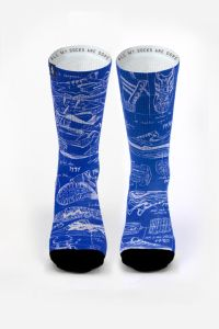 Pacifico Blueprint Socks