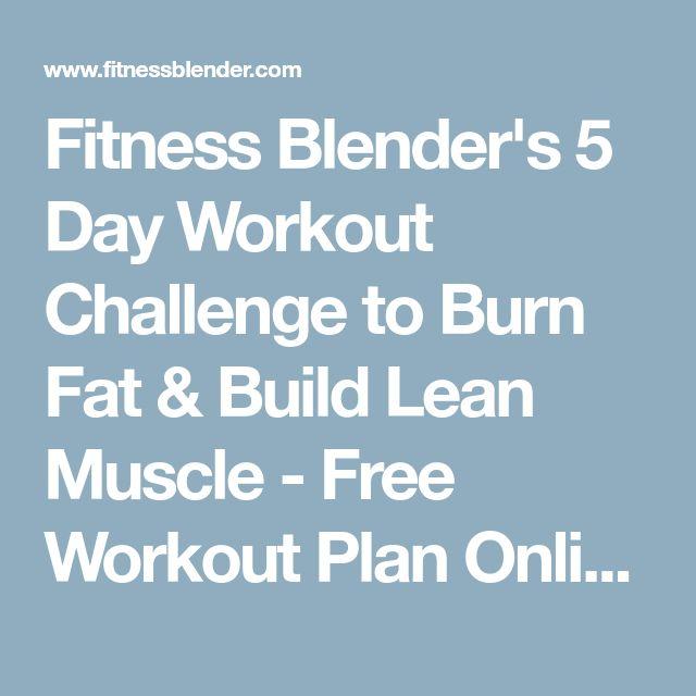 Fitness Blender Workout Plans Free | Kayafitness co