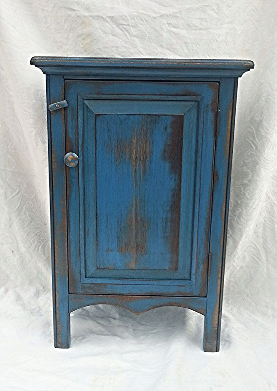 small cabinet small painted blue distressed cabinet white interiors cabinets and front doors. Black Bedroom Furniture Sets. Home Design Ideas