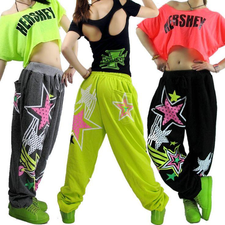 Купить товарНовые модные Женщины Хип хоп танец носить брюки тренировочные брюки ds костюм свободные случайные женские брюки гарем брюки в категории Брюки и каприна AliExpress. Новые модные Женщины Хип-хоп танец носить брюки тренировочные брюки ds костюм свободные случайные женские брюки гарем брюки