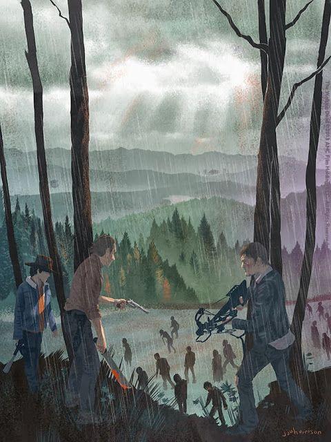 Cool Art: Hero Complex Gallery presents 'The Walking Dead' - Art by JJ Harrison