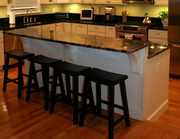 Cut Down Two Tier Kitchen Countertop