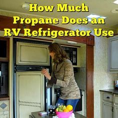How Much Propane Does an RV Refrigerator Use: Running your RV's refrigerator on propane for 24 hours to get it cold will... Read More: http://www.everything-about-rving.com/how-much-propane-does-an-rv-refrigerator-use.html Happy RVing! #rvfridge #rving #r