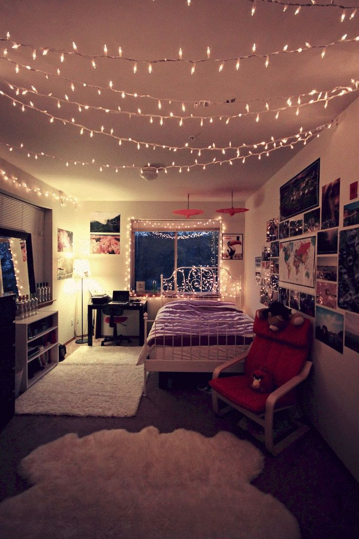 Charmant 50 DIY College Apartment Decoration Ideas On A Budget. Colorful Girls  BedroomsBedroom ...