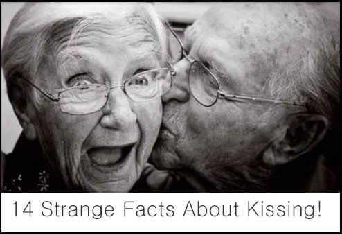 14 Strange Facts About Kissing!