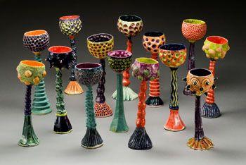 Jenny Lou Sherburne pottery at MudFire Gallery