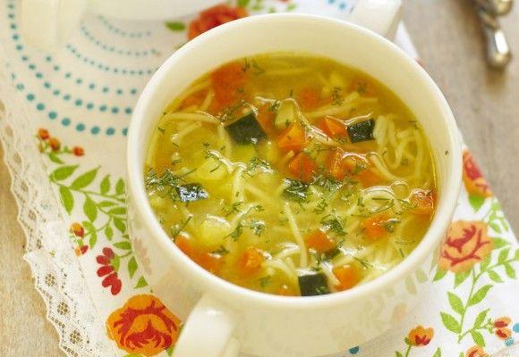 Supă de legume cu fidea | Click! Pofta Buna!