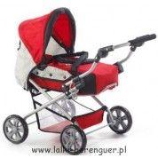 Wózki dla lalek - Szeroki wybór markowych solidnie wykonanych wózków dla lalek. W ofercie wózki spacerowe i głębokie. - Lalki-Berenguer.pl