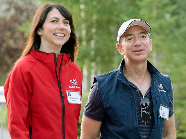 A look inside the marriage of world's richest couple Jeff and Mackenzie Bezos - who met at work were engaged within 3 months and own more land than almost anyone else in America