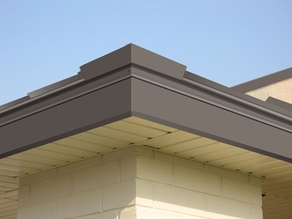 Buckskin Metal Fascia Roof Fascia Soffit Pinterest