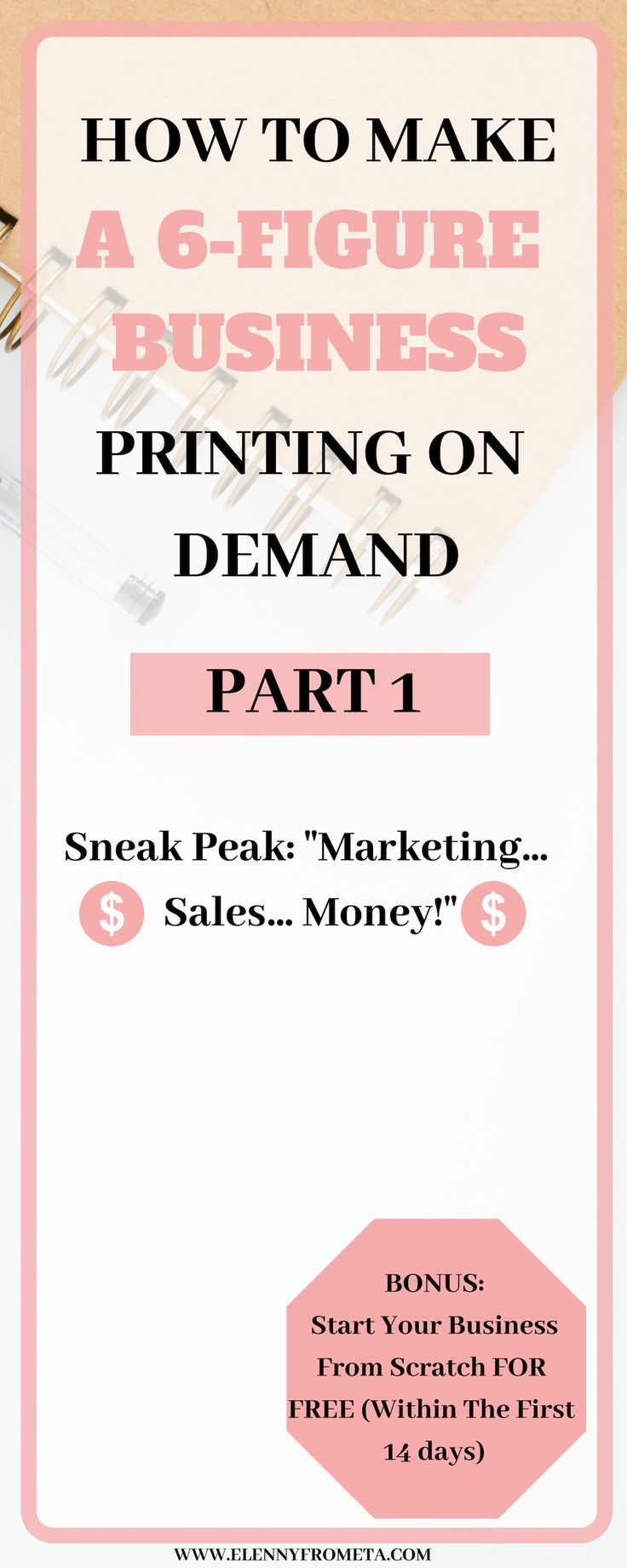 How to Make a 6-Figure Business Printing on Demand (PART 1