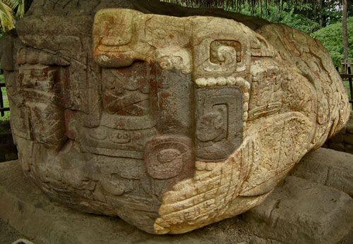 The Crocodile of Zoomorph B at Quirigua