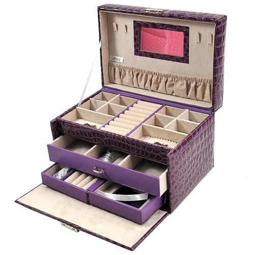 TXJB-061 is a jewelry box that I'd love to put in my bedroom due to my favorite purple color.How about you?