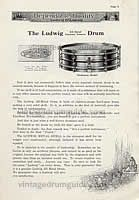 Vintage Snare Drums online Ludwig, Vintage Ludwig Snare Drums - Ludwig Snare Drums - Ludwig Drum Company