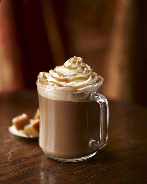 Starbucks Salted Caramel Hot Chocolate | Punch N Smooties | Pinterest
