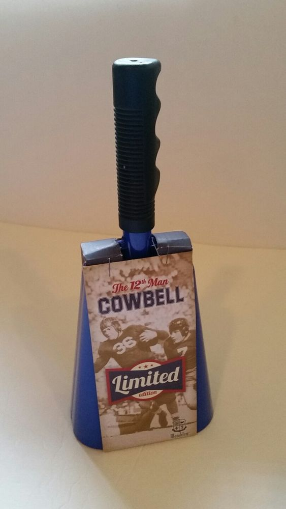 Cowbell With Handle 11-inch Royal Blue Noisemakers Football Hockey  | Sporting Goods, Other Sporting Goods | eBay!
