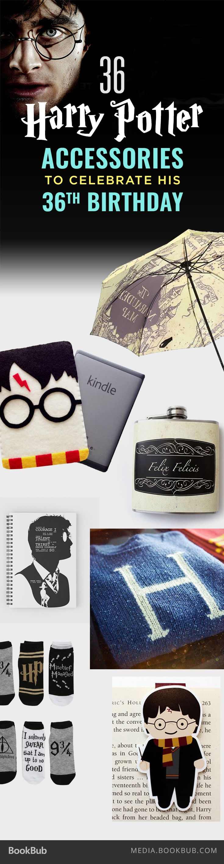 36 Harry Potter accessories for Harry's 36th birthday -- perfect gift ideas for the Potterhead in your life!