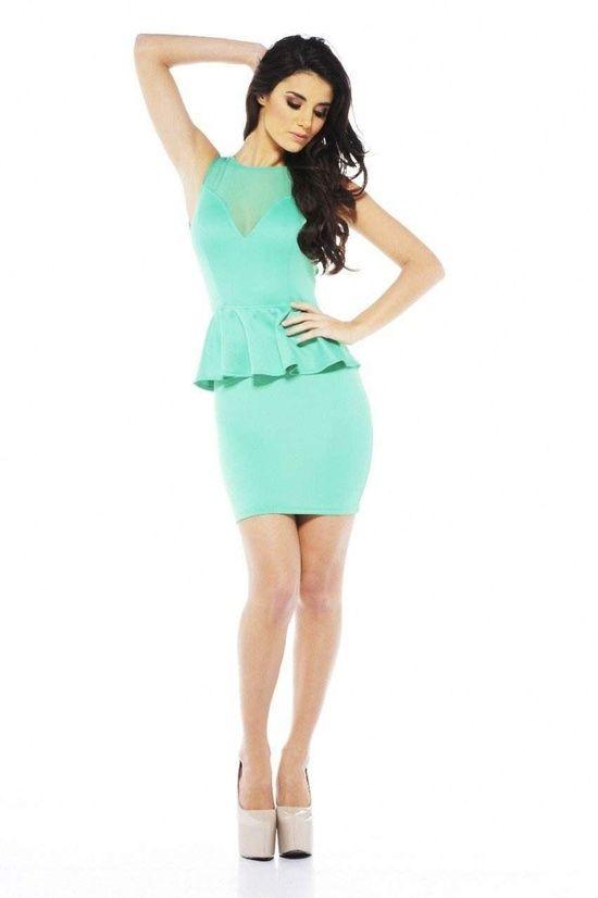 vestidos cortos color celeste pastel - Buscar con Google