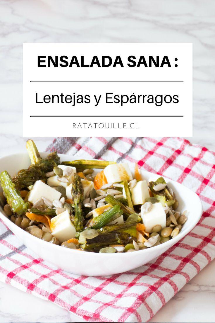 Esta ensalada es exquisita, contundente y sana, haz click para ver la receta