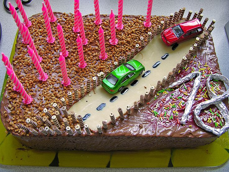 Führerschein - Torte zum 18. Geburtstag