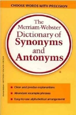 The Merriam Webster Dictionary Of Synonyms And Antonyms Download